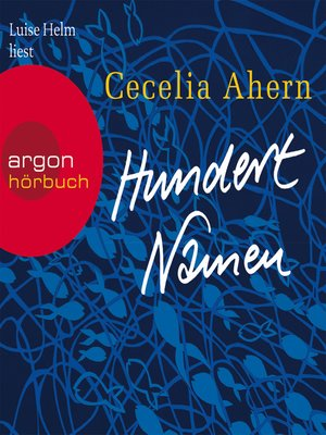cover image of Hundert Namen
