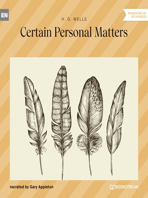 cover image of Certain Personal Matters