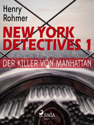 cover image of Der Killer von Manhattan--New York Detectives 1