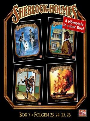 cover image of Sherlock Holmes--Die geheimen Fälle des Meisterdetektivs, Box 7