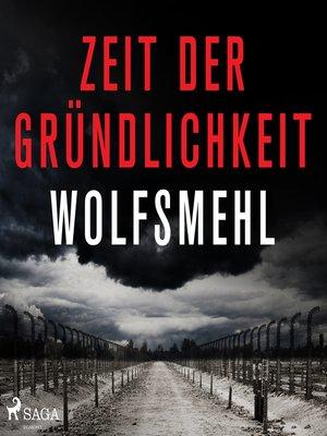 cover image of Zeit der Gründlichkeit