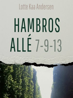 cover image of Hambros Allé 7-9-13