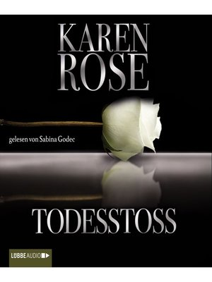 cover image of Todesstoß