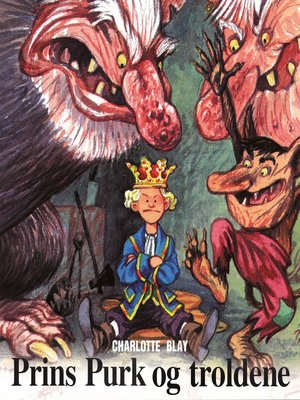 cover image of Prins Purk og troldene