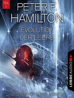 cover image of Evolution der Leere, Teil 1--Das dunkle Universum, Band 4