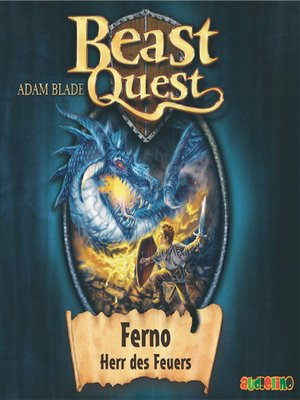 cover image of Ferno, Herr des Feuers--Beast Quest 1