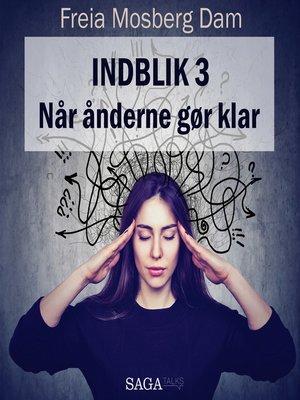 cover image of Indblik, 3