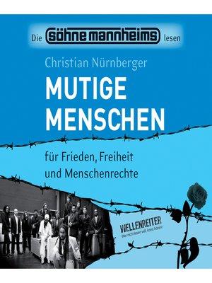 cover image of Mutige Menschen