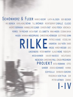 cover image of Rilke Projekt I-IV