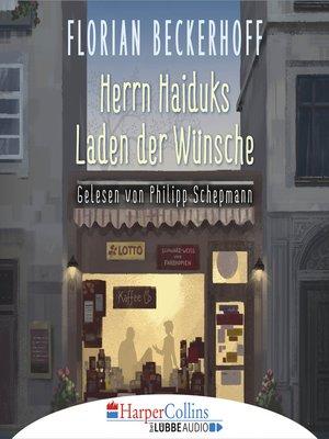 cover image of Herrn Haiduks Laden der Wünsche