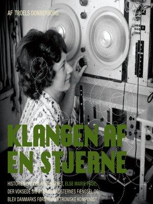 cover image of Klangen af en stjerne