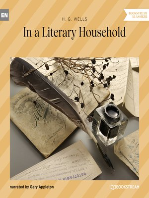 cover image of In a Literary Household
