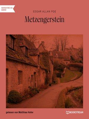 cover image of Metzengerstein