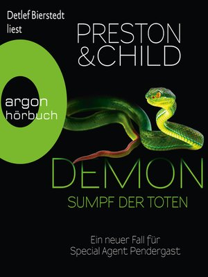 cover image of Demon--Sumpf der Toten--Ein neuer Fall für Special Agent Pendergast