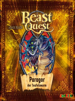 cover image of Paragor, der Teufelswurm--Beast Quest 29