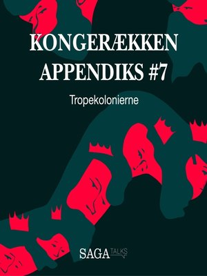 cover image of Tropekolonierne--Kongerækken Appendiks 7