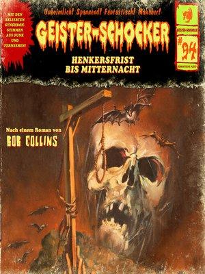 cover image of Geister-Schocker, Folge 94