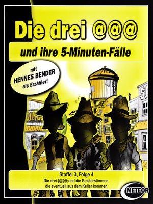 cover image of Die drei @@@ (Die drei Klammeraffen), Staffel 3, Folge 4