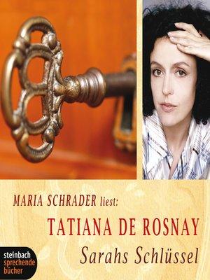 cover image of Sarahs Schlüssel