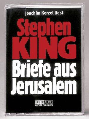 cover image of Briefe aus Jerusalem