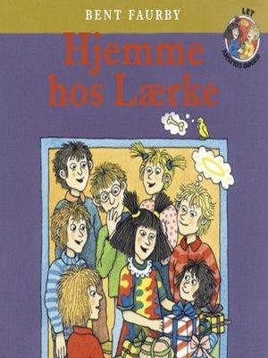 cover image of Hjemme hos Lærke