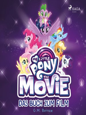 cover image of My Little Pony, the Movie--das Buch zum Film