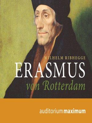 cover image of Erasmus von Rotterdam