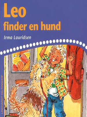 cover image of Leo finder en hund