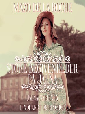 cover image of Jalna-serien, bind 15