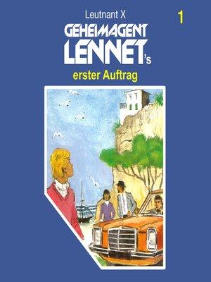 cover image of Geheimagent Lennet, Folge 1