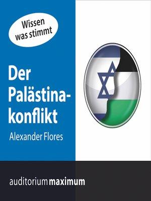 cover image of Der Palästinakonflikt