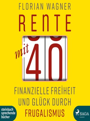 cover image of Rente mit 40