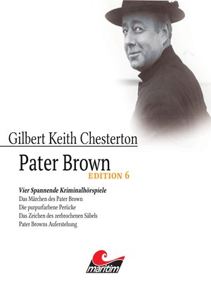 cover image of Pater Brown, Edition 6