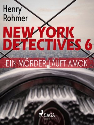 cover image of Ein Mörder läuft Amok--New York Detectives 6