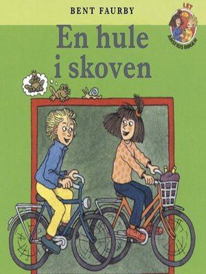 cover image of En hule i skoven