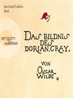cover image of Das Bildnis des Dorian Gray--Sonderausgabe