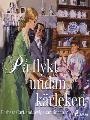 cover image of På flykt undan kärleken--Den eviga samlingen 35