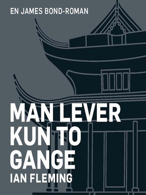 cover image of Man lever kun to gange