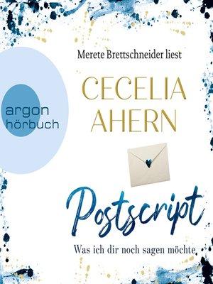 cover image of Postscript--Was ich dir noch sagen möchte