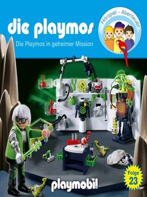 cover image of Die Playmos--Das Original Playmobil Hörspiel, Folge 23