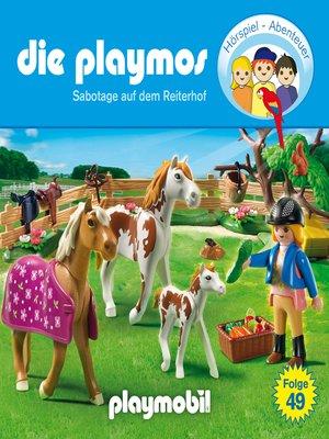 cover image of Die Playmos--Das Original Playmobil Hörspiel, Folge 49