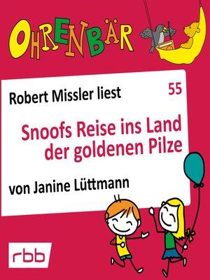 cover image of Ohrenbär--eine OHRENBÄR Geschichte, 5, Folge 55