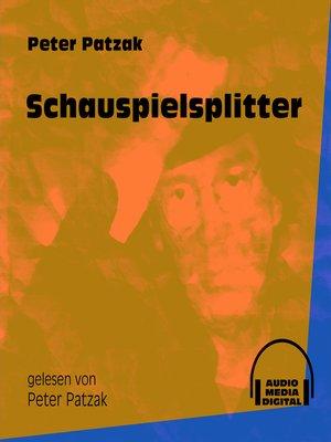 cover image of Schauspielsplitter