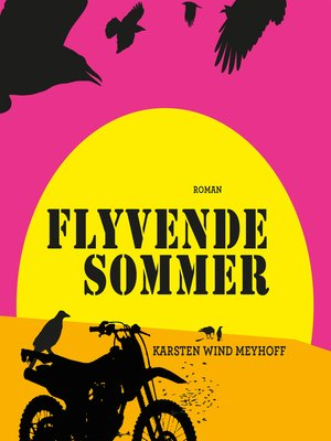 cover image of Flyvende sommer