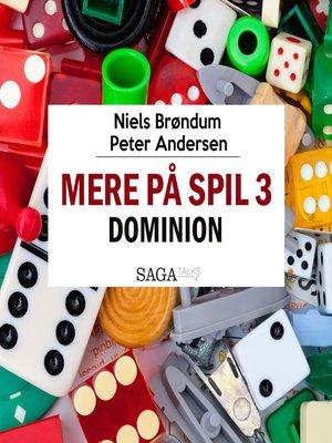 cover image of Mere på spil, 3