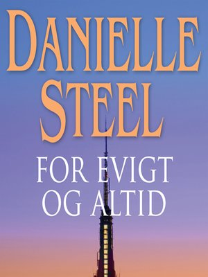 cover image of For evigt og altid
