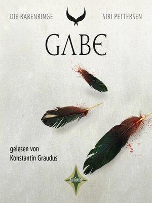 cover image of Die Rabenringe--Gabe