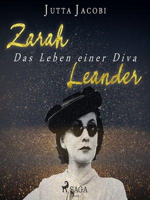 cover image of Zarah Leander--Das Leben einer Diva