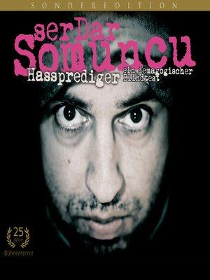 cover image of Serdar Somuncu, Hassprediger--ein demagogischer Blindtest