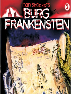 cover image of Dan Shockers Burg Frankenstein, Folge 2